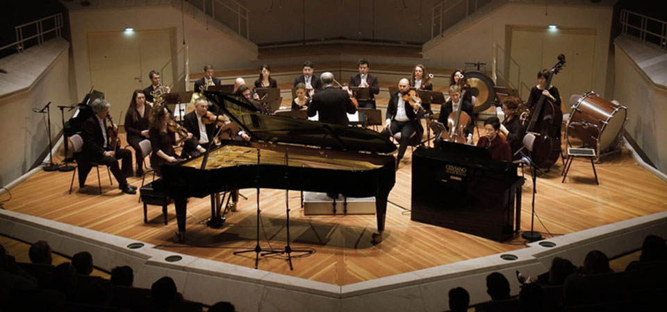 Casio – Hybrid-Piano goes Berliner Philharmonie